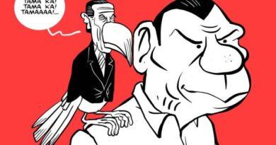 Karikatur im PHILIPPINEN MAGAZIN