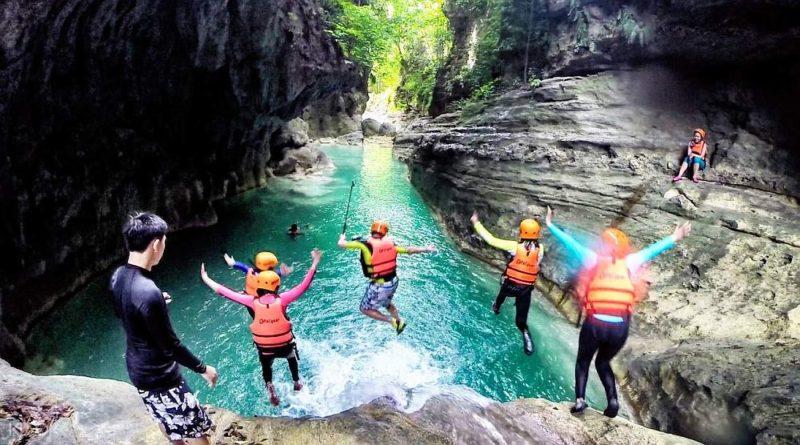 PHILIPPINEN MAGAZIN - MEIN DIENSTAGSTHEMA - WAS TUN IN DEN PHILIPPINEN - Canyoneering