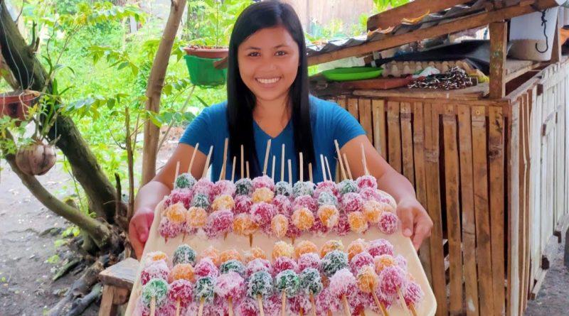PHILIPPINEN MAGAZIN - VIDEOSAMMLUNG - Vorstellung von Inday-Inday oder Cassava Bällchen