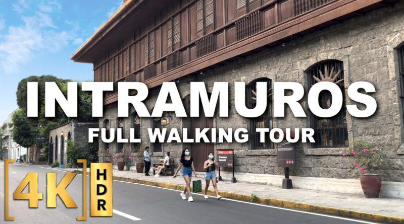 PHILIPPINEN MAGAZIN - VIDEOSAMMLUNG - Kompletter Rundgang durch Intramuros