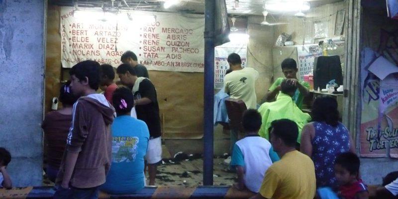 PHILIPPINEN MAGAZIN - DER PHILIPPINISCHE EXPATKLUB - GRUPPE ALLGEMEIN - Beim Herrenfrisör