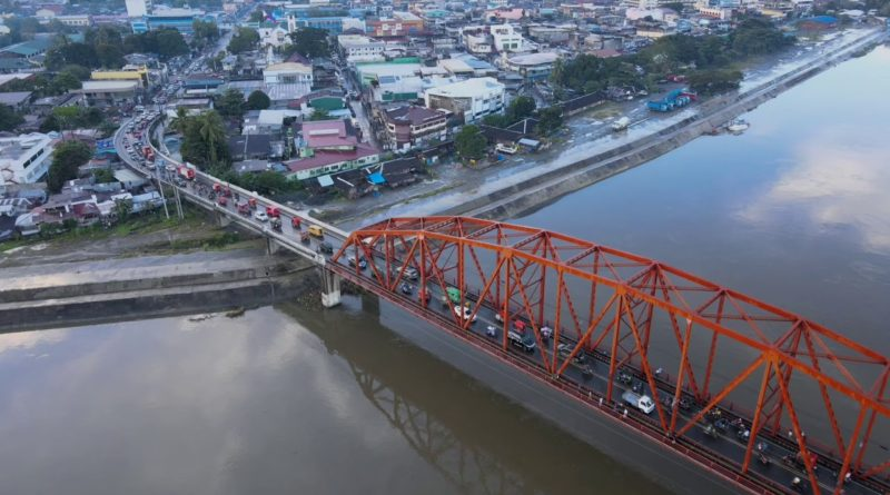 Luftaufnahmen der Stadt Butuan