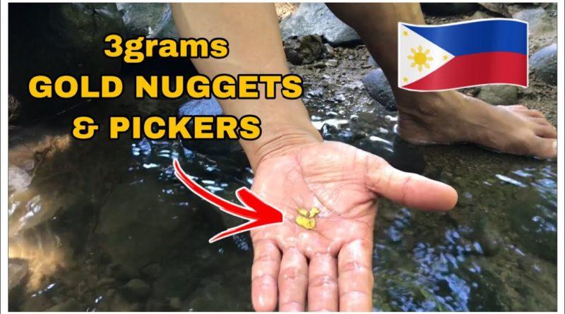 PHILIPPINEN MAGAZIN - VIDEOSAMMLUNG - Suche nach Goldnuggts in den Philippinen