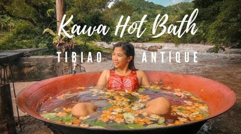 PHILIPPINEN MAGAZIN - VIDEOSAMMLUNG - La Excapo heißes Kawa Bad in Tibiao