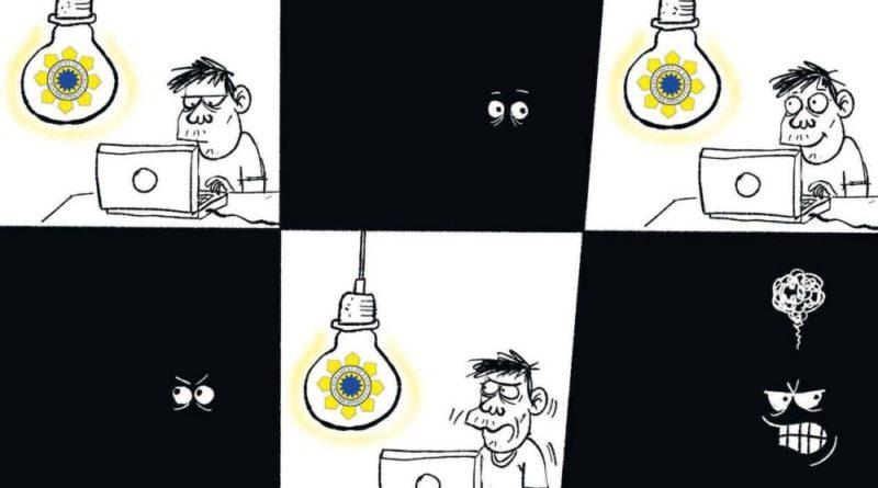 PHILIPPINEN MAGAZIN - Die Karikatur im Philippinen Magazin