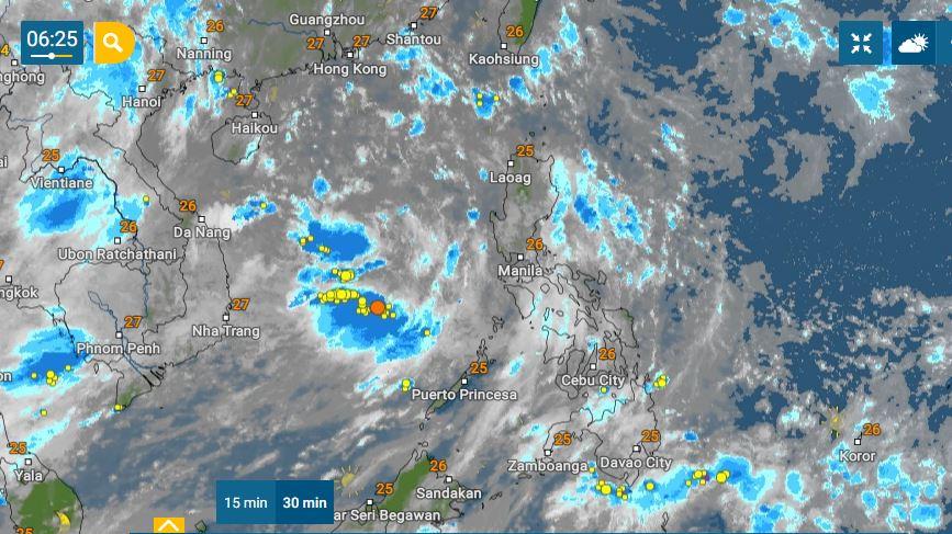 PHILIPPINEN MAGAZIN - WETTER - Die Wettervorhersage für die Philippinen, Donnerstag, den 10. Juni 2021