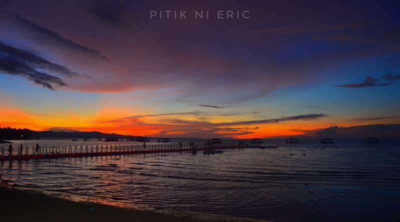 PHILIPPINEN BLOG - Majestätische Sonnenuntergangsbeobachtung im Amontay Beach Resort in Agusan Del Norte