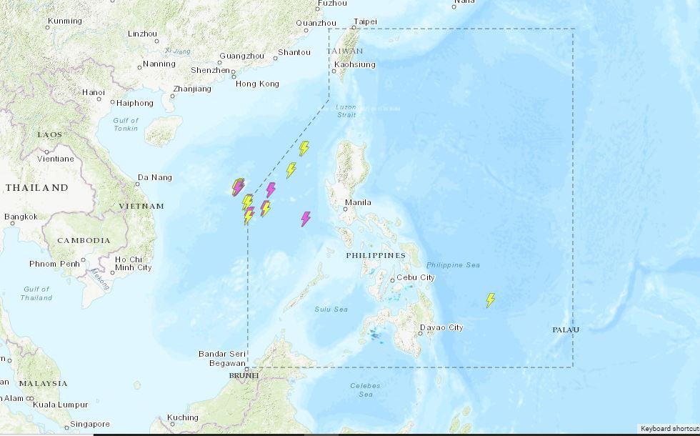 PHILIPPINEN MAGAZIN - WETTER - Die Wettervorhersage für die Philippinen, Dientag, den 15. Juni 2021