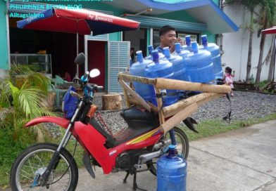 PHILIPPINEN MAGAZIN - DER PHILIPPINISCHE EXPAT KLUB - GRUPPE ALLGEMEIN - Trinkwasser-Transporte Foto von Sir Dieter Sokoll