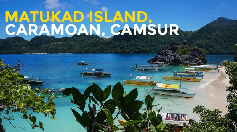 PHILIPPINEN MAGAZIN - MEIN FREITAGSTHEMA - SCHÖNE INSELN DER PHILIPPINEN - Matukad Island in Camarines Sur