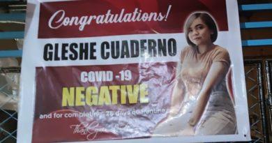 PHILIPPINEN MAGAZIN - NACHRICHTEN - FEUILLETON - Gratulation zum negativen Covid-19 Befund