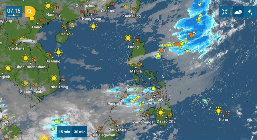 PHILIPPINEN MAGAZIN - WETTER - Die Wettervorhersage für die Philippinen, Samstag, den 19. Juni 2021
