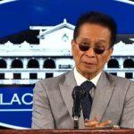 Panelo widerspricht DOJ, sagt, dass Duterte Befehl, diejenigen zu verhaften, die sich weigern, geimpft zu werden sei legal