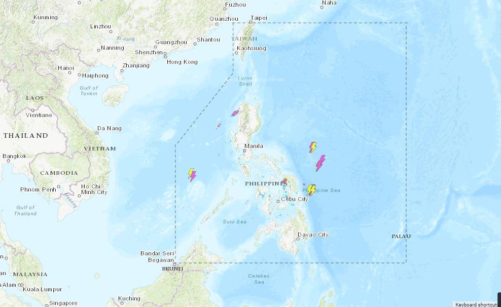PHILIPPINEN MAGAZIN - WETTER - Die Wettervorhersage für die Philippinen, Mittwoch, den 23. Juni 2021