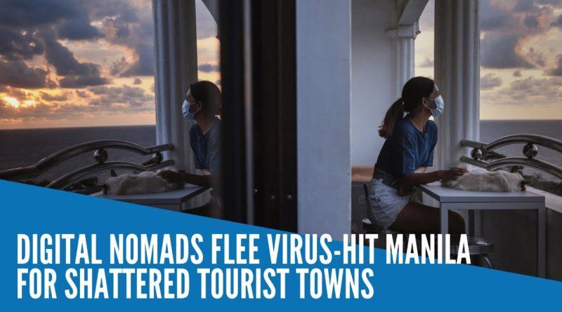 PHILIPPINEN MAGAZIN - VIDEOSAMMLUNG - Digitale Nomaden fliehen aus dem vom Virus heimgesuchten Manila in angeschlagene Touristenorte