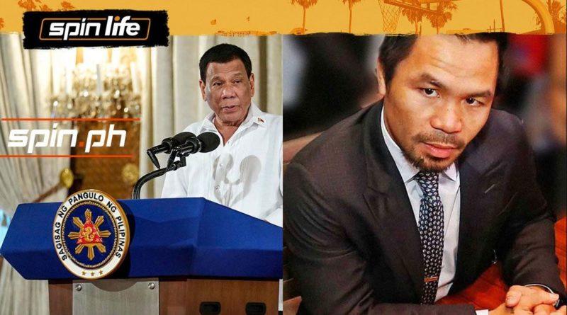 PHILIPPINEN MAGAZIN - NACHRICHTEN - Duterte kritisiert Pacquiao scharf