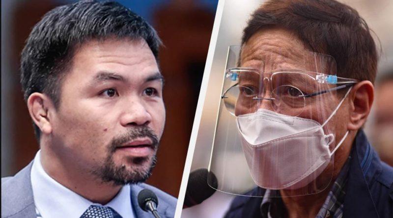 PHILIPPINEN MAGAZIN - NACHRICHTEN - Palast zu Pacquiaos Korruptionsvorwürfen gegen das DOH: Warum erst jetzt?