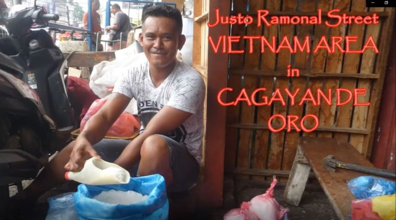 PHILIPPINEN MAGAZIN - YOUTUBE KANAL - Vietnam Area oder Justo Ramonal Street Foto vun Video von Sir Dieter Sokoll für PHILIPPINEN MAGAZIN
