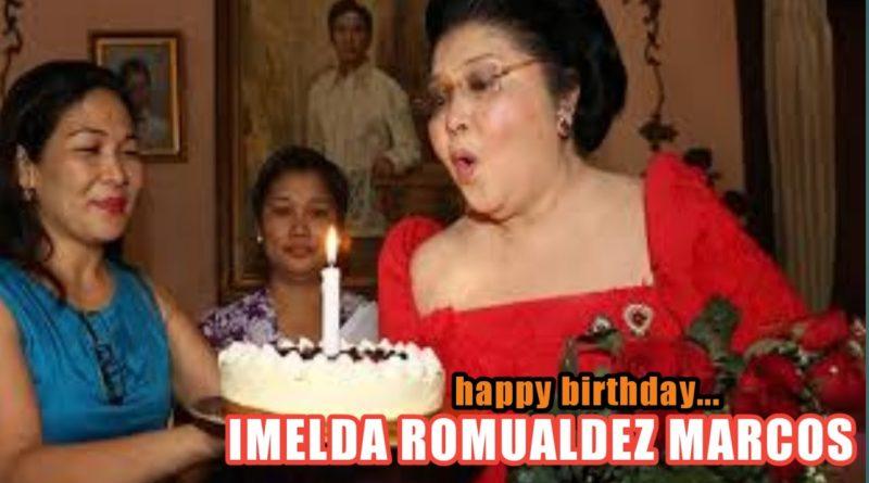 PHILIPPINEN MAGAZIN - NACHRICHTEN - FEUILLETON :- Herzlichen Glückwunsch zum 92. Geburtstag - Imelda Marcos