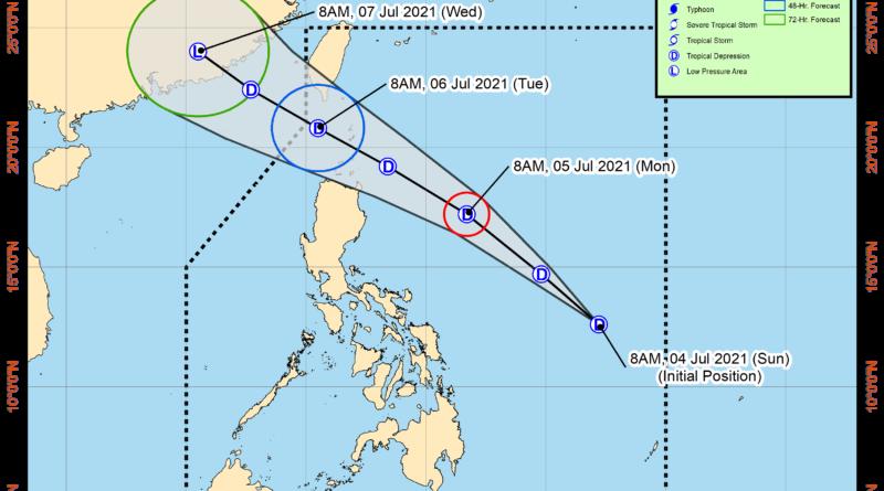 PHILIPPINEN MAGAZIN - WETTER - Sturmwarnung 1 im hohen Norden wegen Tropentief EMONG