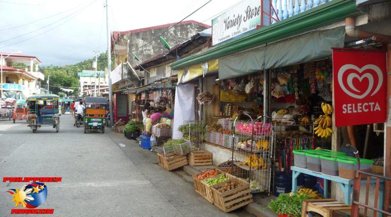 PHILIPPINEN MAGAZIN - FOTO DES TAGES - Malerische Hafenstadt in Southern Leyte Foto von Sir Dieter Sokoll