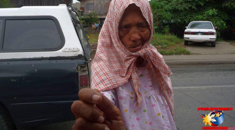 PHILIPPINEN MAGAZIN - FOTO DES TAGES - Das Verbrechen mit der Armut Foto von Sir Dieter Sokoll