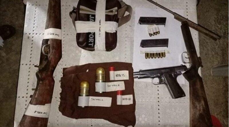 PHILIPPINEN MAGAZIN - NACHRICHTEN - Waffenversteck bei Schlachthofverwalter sichergestellt