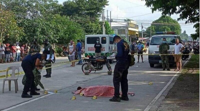 PHILIPPINEN MAGAZIN - NACHRICHTEN - Mutter von Motorrad fahrendem Verdächtigen erschossen