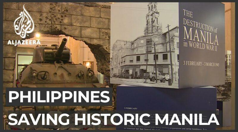 PHILIPPINEN MAGAZIN - VIDEOSAMMLUNG - Philippinische Regierung bemüht sich um den Erhalt des historischen Manila
