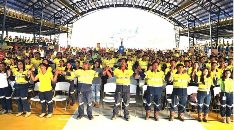 PHILIPPINEN MAGAZIN - NACHRICHTEN - Bergbauunternehmen erwartet über 1,5K Arbeitsplätze unter dem neuen FTAA