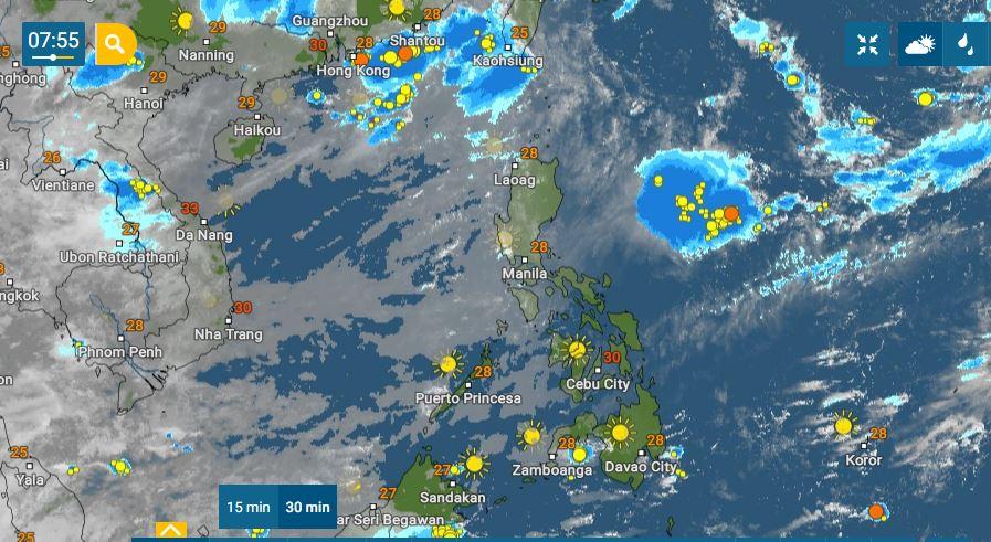 PHILIPPINEN MAGAZIN - WETTER - Die Wettervorhersage für die Philippinen, Samstag, den 31. Juli 2021