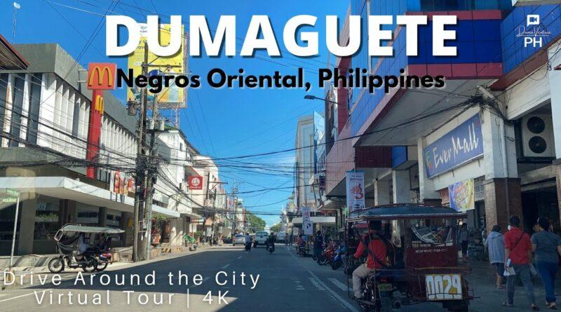 PHILIPPIN MAGAZIN - VIDEOSAMMLUNG - Mit dem Auto durch Dumaguete