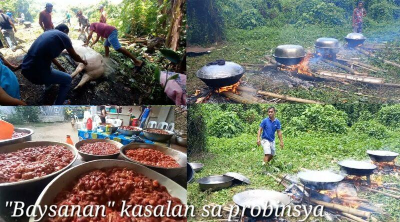 PHILIPPINEN MAGAZIN - VIDEOSAMMLUNG - Festmahl kochen zur Hochzeit in der Provinz