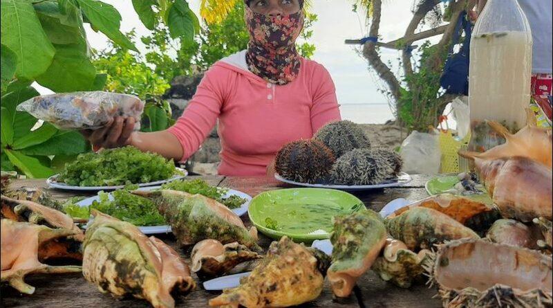 PHILIPPINEN MAGAZIN - FEUILLETON - Verkauf von exotischen Meeresfrüchten in Zeiten von Covid-19