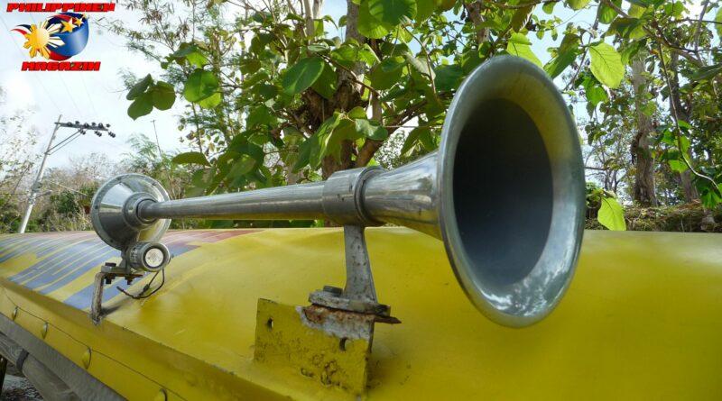 PHILIPPINEN MAGAZIN - FOTO DES TAGES - Das Signalhorn Foto von Sir Dieter Sokoll