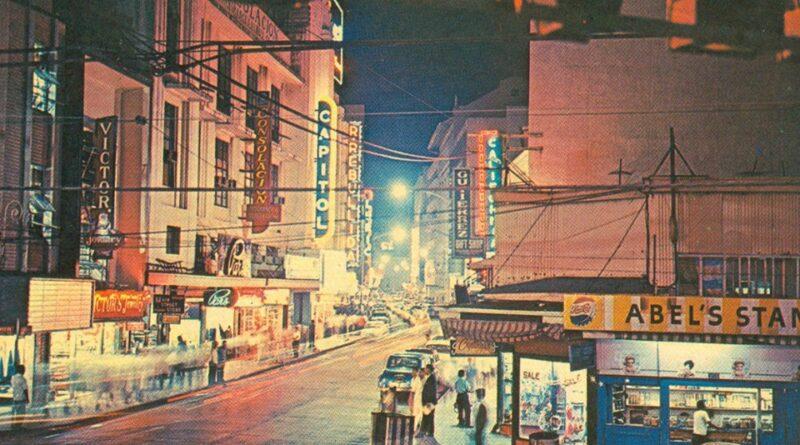 PHILIPPINEN MAGAZIN - TAGESTHEMA - Escolta in Manila