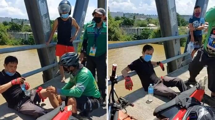 PHILIPPINEN MAGAZIN - NACHRICHTEN - Raubüberfall auf der JR Borga Brücke in Cagayan de Oro