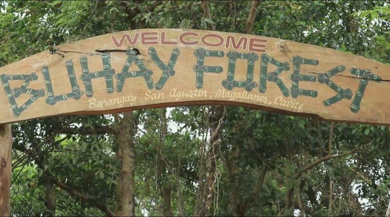PHILIPPINEN MAGAZIN - NACHRICHTEN - Tausende von Setzlingen im Buhay Forest in Cavite gepflanzt