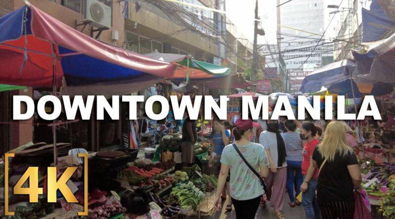 PHILIPPINEN MAGAZIN - VIDEOSAMMLUNG - Die Philippinen im Video - Erkundung von Downtown Manila | Quiapo, Binondo, Recto, Divisoria