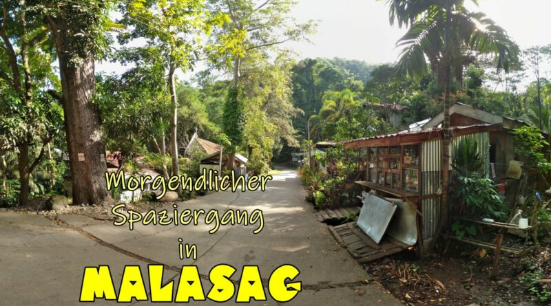 PHILIPPINEN MAGAZIN - VIDEOKANAL - Morgenspaziergang auf der Malasag Bergstraße