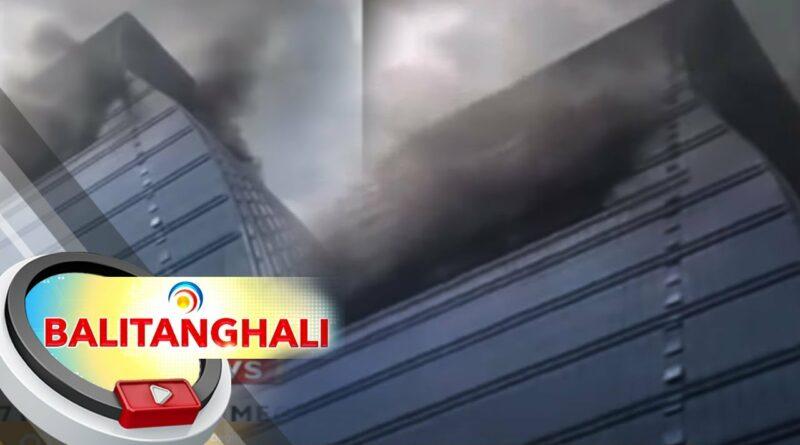 PHILIPPINEN MAGAZIN - NACHRICHTEN - BREAKUNG NEWS - Es wird befürchtet, dass bei einem Brand in einem Gebäude in Mandaluyong Menschen eingeschlossen sind