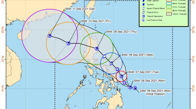 PHILIPPINEN MAGAZIN - NACHRICHRTEN - WETTERWARNUNG - Tropisches Wirbelsturm-Bulletin Nr. 2