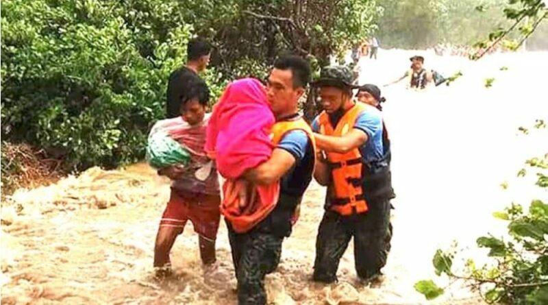 """PHILIPPINEN MAGAZIN - NACHRICHTEN - Masbate durch Jolina"""" unter Hochwasser"""