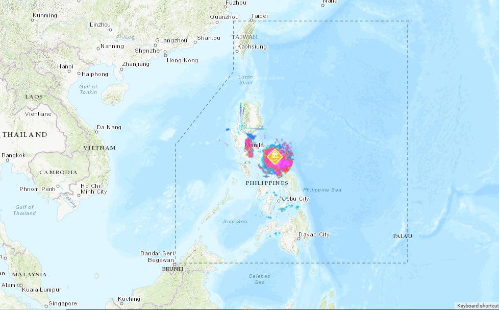PHILIPPINEN MAGAZIN - WETTER - Die Wettervorhersage für die Philippinen, Sonntag, den 19. September 2021