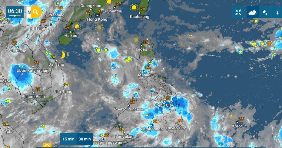 PHILIPPINEN MAGAZIN - WETTER - Die Wettervorhersage für die Philippinen, Montag, den 20. September 2021