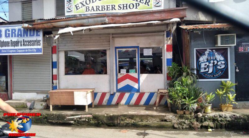 PHILIPPINEN MAGAZIN - FOTO DES TAGES - Der Barbierladen Foto von Sir Dieter Sokoll