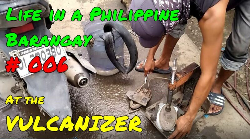 PHILIPPINEN MAGAZIN - SIGHTS OF CAGAYAN DE ORO & NORTHERN MINDANAO - VIDEO: Life in a Barangay # 006 - At the Vulcanizer Photo & Video by Sir Dieter Sokoll for PHILIPPINE MAGAZINE