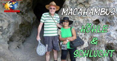 PHILIPPINEN MAGAZIN - VIDEOKANAL - Macahambus Höhle und Macahambus Schlucht Foto und Video von Sir Dieter Sokoll