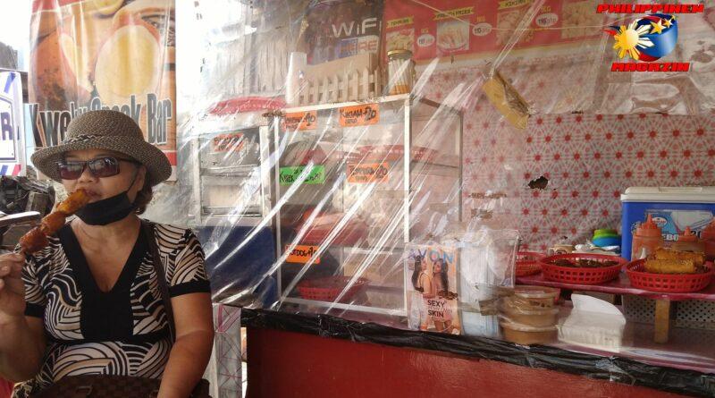 PHILIPPINEN MAGAZIN - FOTO DES TAGES - Snack am Imbißstand Foto von Sir Dieter Sokoll