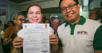 PHILIPPINEN MAGAZIN - NACHRICHTEN - EILMELDUNG - Sara Duterte reicht COC für ihre Wiederwahl als Bürgermeisterin von Davao City ein